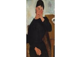 D-8416 Amedeo Modigliani - Elvira odpočívá u stolu