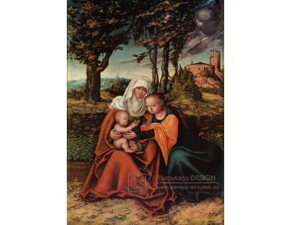 VlCR-41 Lucas Cranach - Svatá Anna