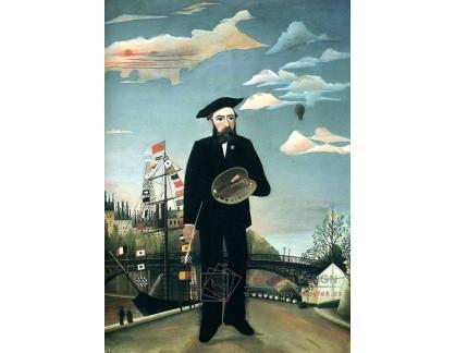 VF31 Henri Rousseau - Autoportrét