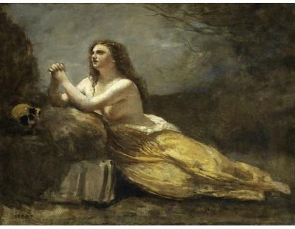 KO III-205 Jean-Baptiste-Camille Corot - Magdalena při modlitbě