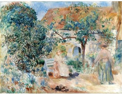 KO III-343 Pierre Auguste Renoir - Zahrada v Británii