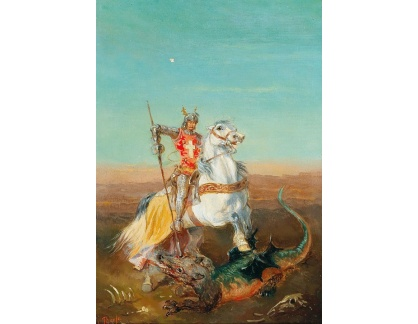 DDSO-2531 Alexander von Bensa - Svatý Jiří a drak