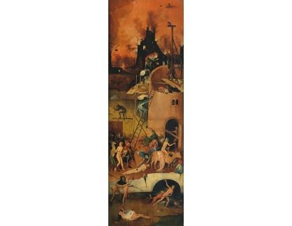 D-6323 Hieronymus Bosch - Triptych vozy sena, pravý panel