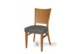 ALBERT 313360, jídelní židle, bukový masiv / koženka
