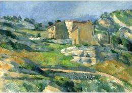 D-7502 Paul Cézanne - Domy v Provence