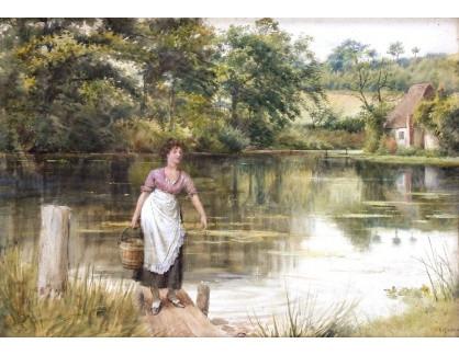 VANG310 George Goodwin Kilburne - Nošení vody