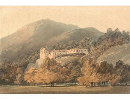 Joseph Mallord William Turner - Santa Lucia, klášter v blízkosti Caserta