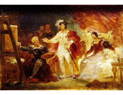 VJHF 25 Jean-Honoré Fragonard - Francois I v ateliéru Rosso