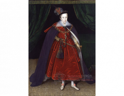VH672 Marcus Gheeraerts - Henry, princ z Walesu
