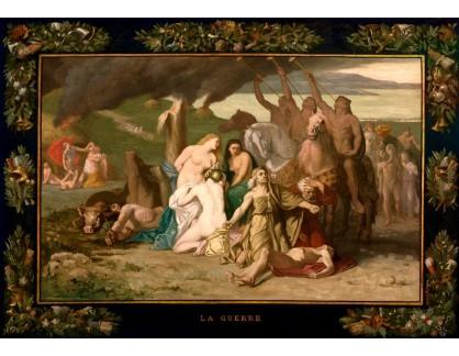 Slavné obrazy XIV-15 Pierre Puvis de Chavannes - Válka