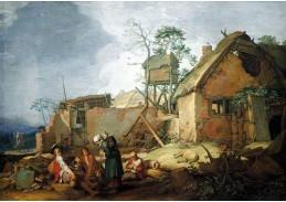 A-562 Abraham Bloemaert - Krajina s domem
