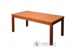 BOHUMIL S19, jídelní rozkládací stůl 90x180-240cm, olše