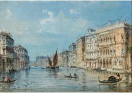 D-5826 Carlo Grubacs - Canal Grande v Benátkách