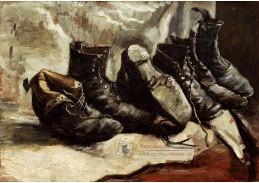A-18 Vincent van Gogh - Tři páry bot