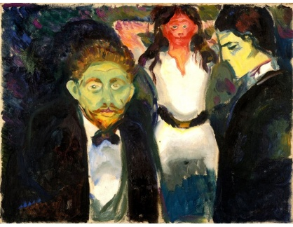 VEM13-20 Edvard Munch - Žárlivost
