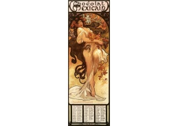 VAM113 Alfons Mucha - Chocolat Masson, Autumn