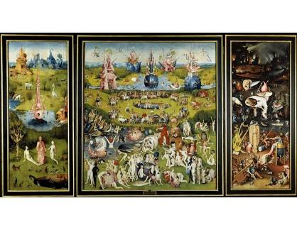 VSO 351 Hieronymus Bosch - Zahrada rajských potěšení