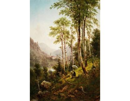Krásné obrazy II-282 Julius Rose - Malíř krajin