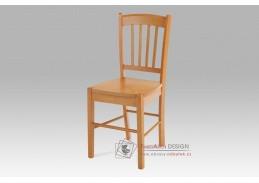 AUC-005 OL, jídelní celodřevěná židle, olše