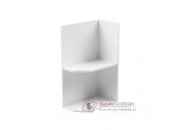 AURORA, dolní kuchyňská skříňka D25PZ - pravá, bílá