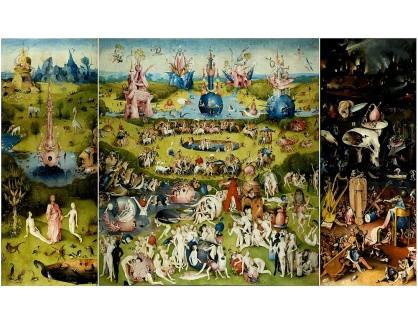 D-6316 Hieronymus Bosch - Triptych, zahrada pozemských radostí