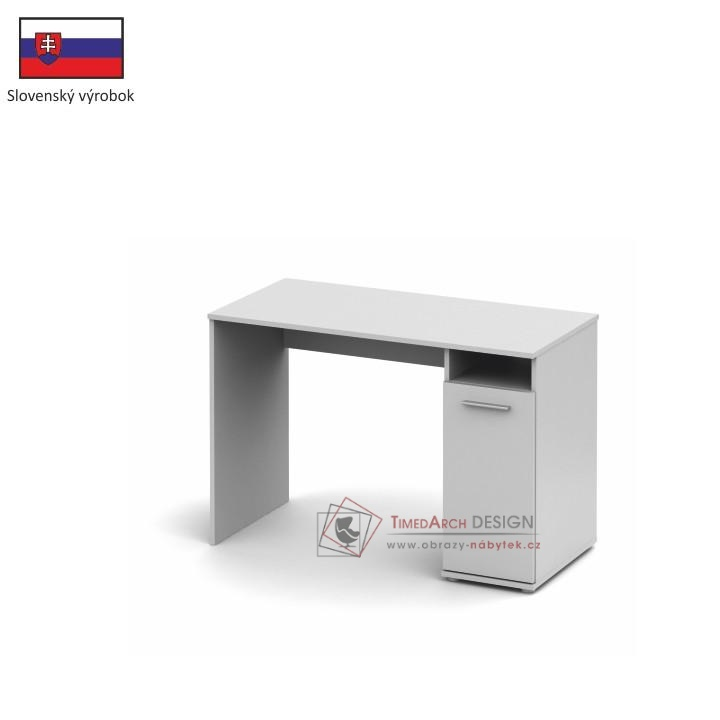 Počítačový stůl SINGA 21 bílá