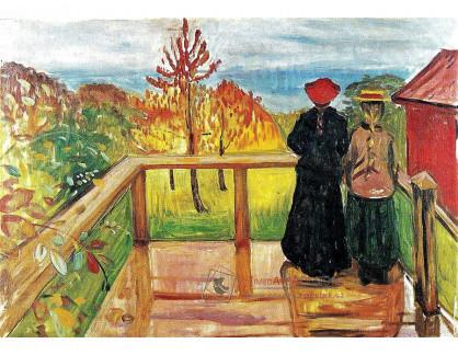 VEM13-48 Edvard Munch - Déšť