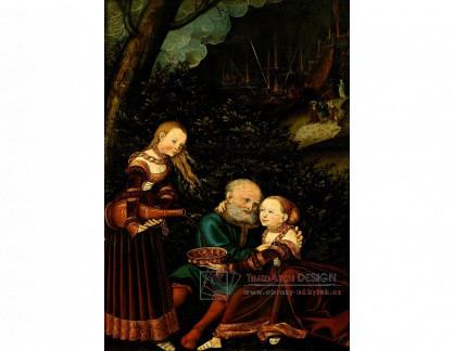 VlCR-127 Lucas Cranach - Lot a jeho dcery