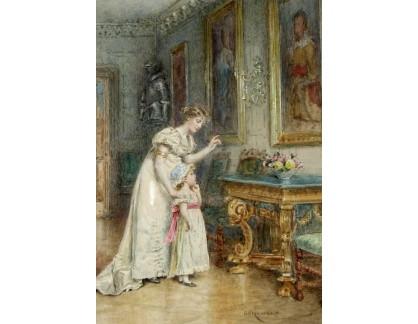 VANG311 George Goodwin Kilburne - Matka s dítětem v galerii