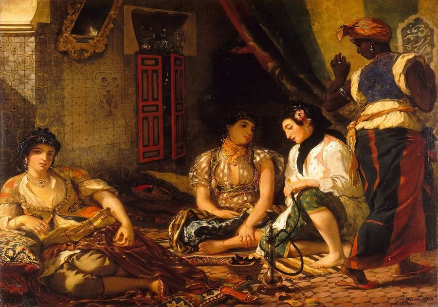 VEF 07 Eugene Ferdinand Victor Delacroix - Ženy v Alžíru