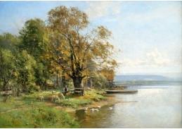 A-612 Carl Adam Heinisch - Herbst u jezera Starnberg