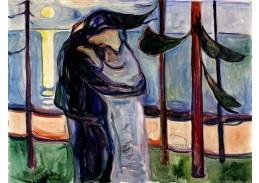 D-8134 Edvard Munch - Polibek