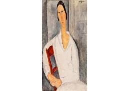 D-8420 Amedeo Modigliani - Ženský portrét
