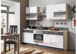MODENA MDF, kuchyň s pracovní deskou 240cm