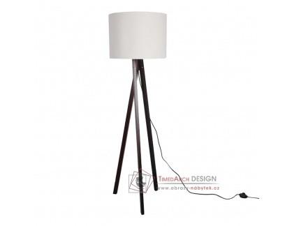 Stojací lampa LILA typ 9 černá / bílá