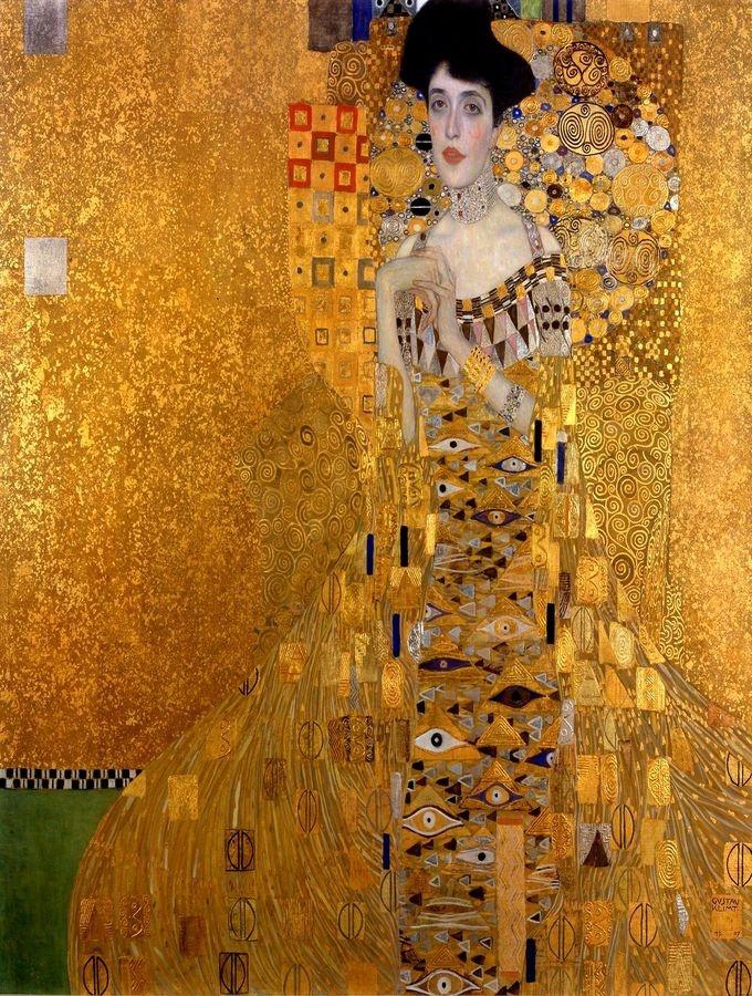 VR3-135 Gustav Klimt - Portrét  Adely Bloch Bauer