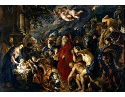 VRU137 Peter Paul Rubens - Klanění tři králů