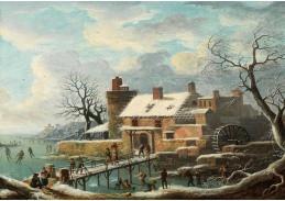 D-5814 Andries Vermeulen - Zimní krajina