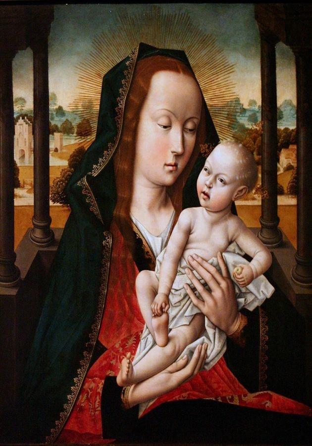 VH572 Aelbrecht Bouts - Madonna s dítětem