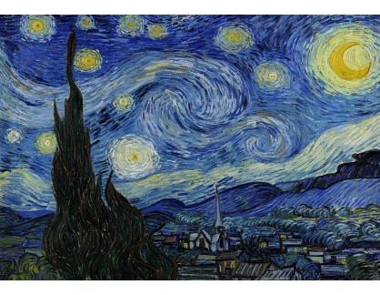 R2-1 Vincent van Gogh - Hvězdná noc