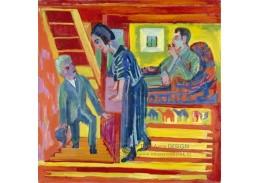 D-8293 Ernst Ludwig Kirchner - Návštěva