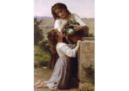 R15-1 Adolph William Bouguereau - U kašny
