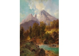DDSO-2574 Carl Millner - Watzmann u Berchtesgadenu