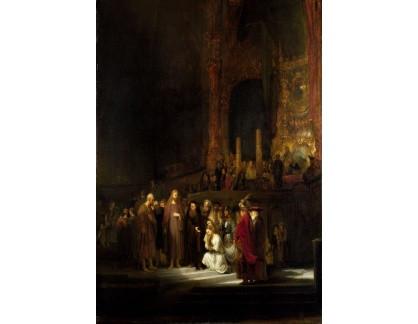 R4-20 Rembrandt - Kristus a cizoložnice