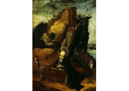 SO I-DDSO-187 Hieronymus Bosch - Pokušení svatého Antonína