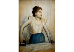VR6-94 Edgar Degas - Žehlení prádla
