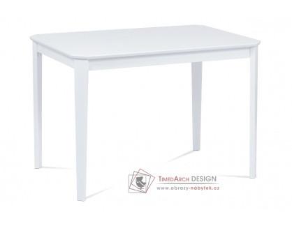 AUT-009 WT, jídelní stůl 110x75cm, bílý