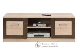BOSS BS02, televizní stolek, dub sonoma / dub čokoládový