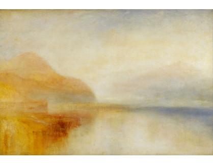 Joseph Mallord William Turner - Ráno u mola jezera Loch