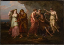 DDSO-1509 Angelica Kauffman - Telemachus a nymfa Calypso